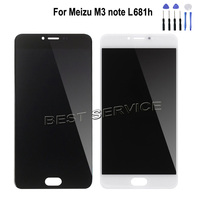 For Meizu M3 Note L681 L681H LCD Display With Touch Screen Digitizer Assembly For Meizu Meilan