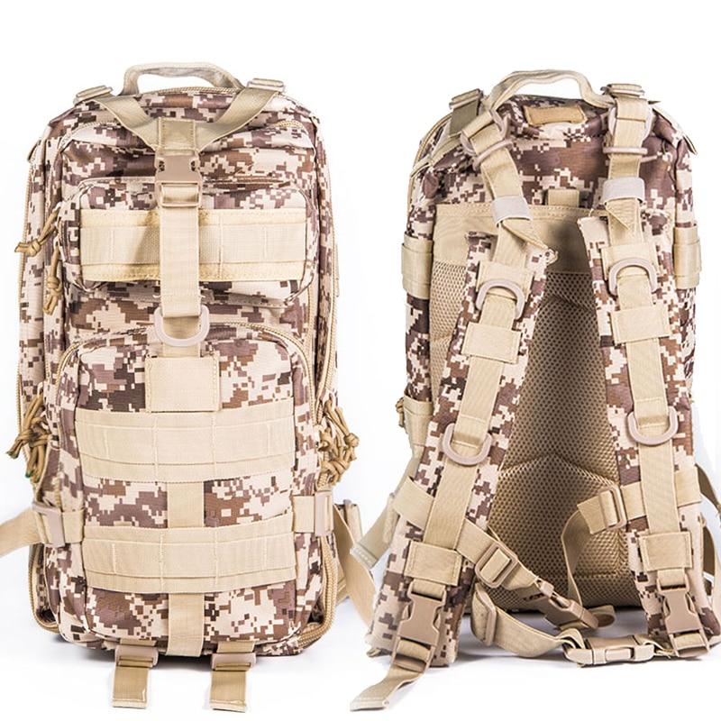 군사 전술 폭행 몰 일 데이 배낭 수화 팩 3P 야외 - 스포츠 가방
