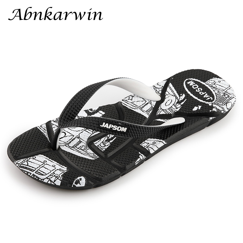 Unisex V Flip Flops Nature Waves Sea Water Rock Personalized Summer Slipper