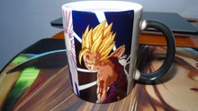 DBZ Dragon Ball Z Mugs SON goku GT Kaio ken vegeta gohan changing color caliente mugs coffee mug novelty magic printing Tea