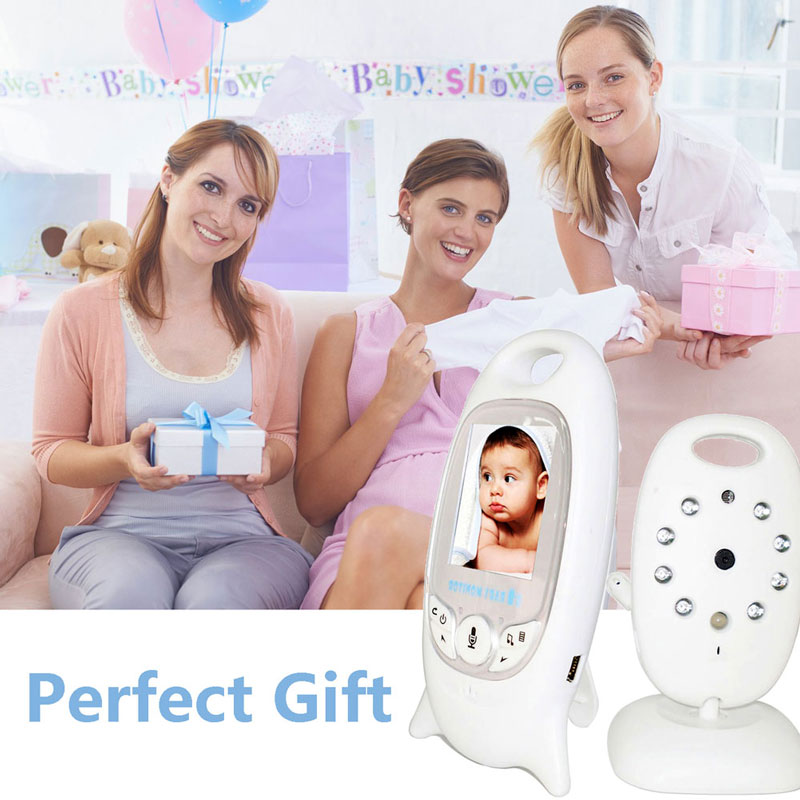 Image 5 - Hot Wireless Video Baby Monitor with Camera Night VisionAudio Security Camera 2 Way Talk Temperature Monitoring with 8 Lullabies-in Baby Monitors from Security & Protection