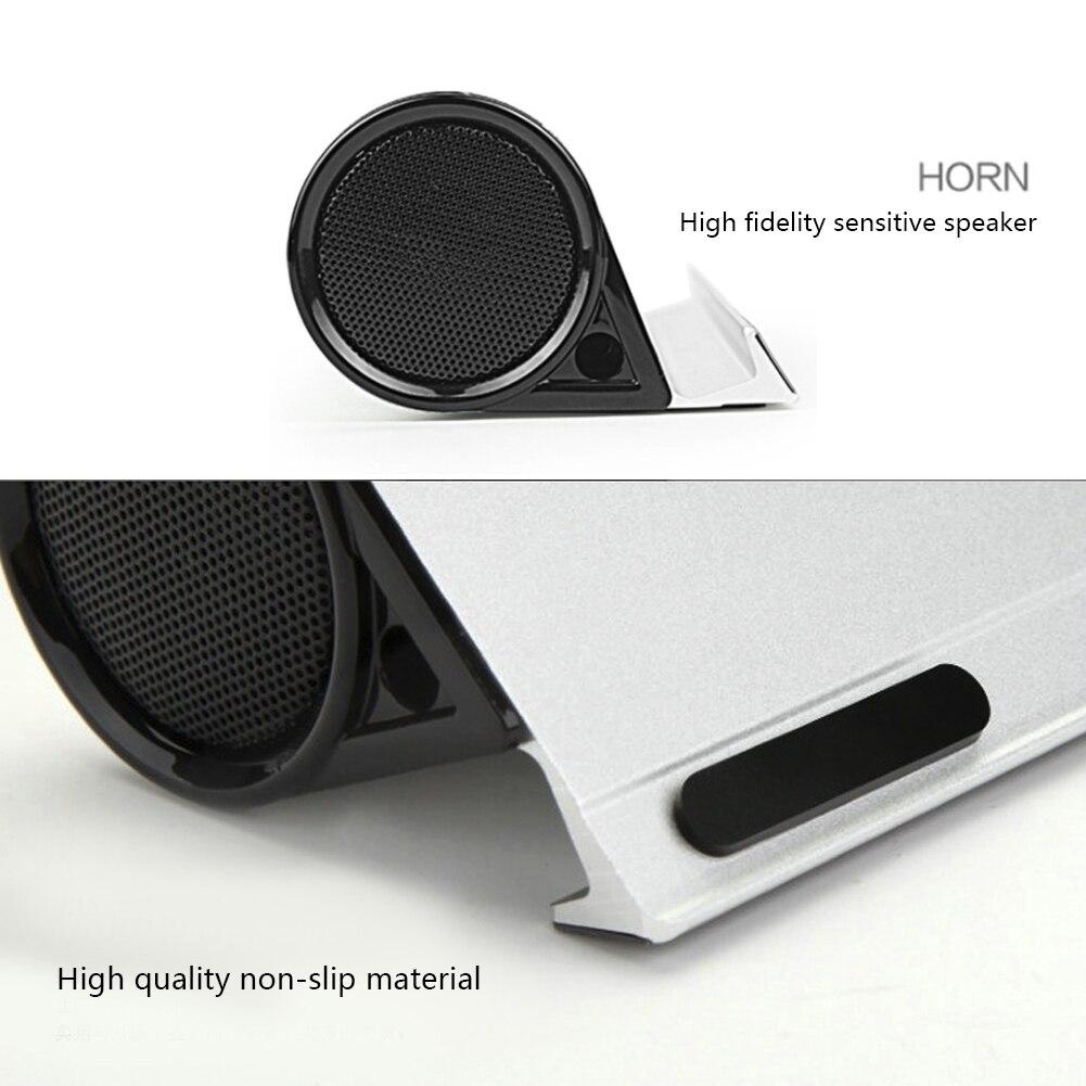 מקרן קיר BT-10 סטריאו סגסוגת Portable Bluetooth רמקול HD בס סאונד אלחוטי אודיו טלפון Tablet Stand מחזיק Bracket High-end טור (3)
