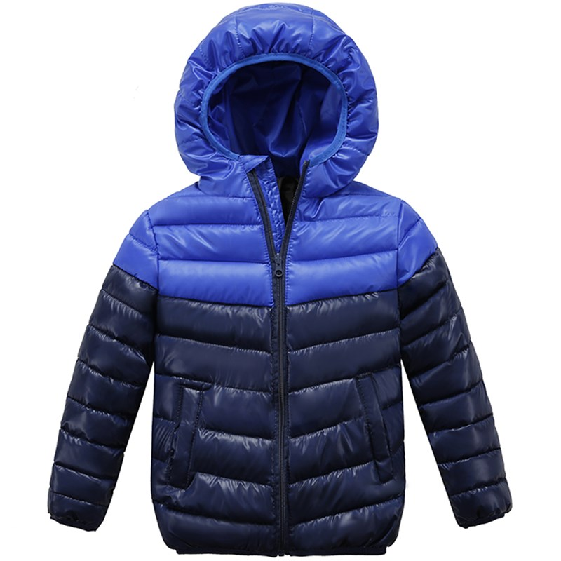 Kids Solid Children Warm Outerwear Children Jackets For Boys & Girls Hooded Jacket Coats Winter girls Clothing boys coat 12 Y цены