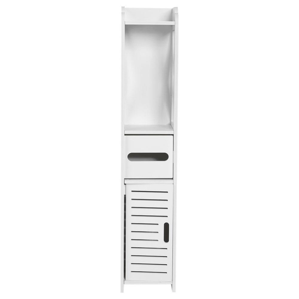 Salle De Bains Toilettes Difference ~ fix au sol de stockage cabinet coin salle de bains vanit salle de