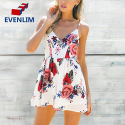 Evenlim boho floral print overalls backless sexy bodysuit women jumpsuit romper club white chiffon playsuits summer.jpg 250x250
