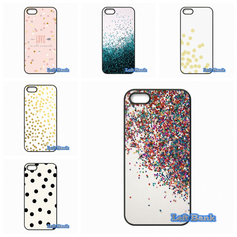 Pro Kawaii Gold Confetti Dots wallpaper Phone Cases Cover For Samsung Galaxy 2015 2016 J1 J2 J3 J5 J7 A3 A5 A7 A8 A9 Pro
