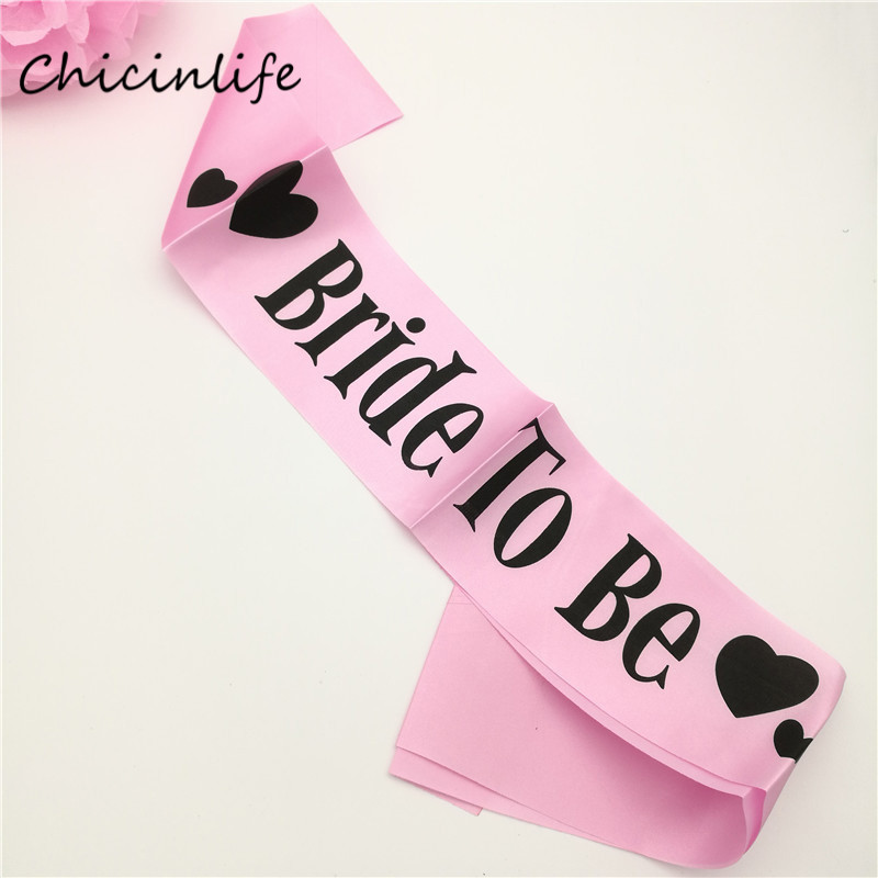 Online Buy Wholesale bridal shower sashes from China bridal shower