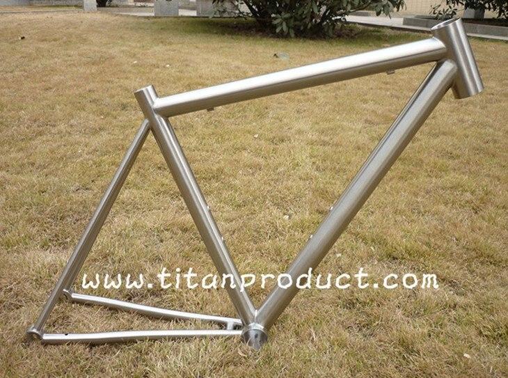 Титан дорожная рама 44 мм Headtube/Di2 кабель для бега/PF BB30 оболочки
