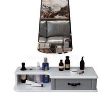 Настенный туалетный столик спальня фотостудия настенный туалетный столик прикроватный Мини Туалетный столик простой кейс для косметики
