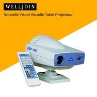 Nieuwe Visuele Vision Tafel Projector  ACP 1800LA Led Koud Lichtbron  Optometrie Apparatuur-in Instrument onderdelen & Accessoires van Gereedschap op