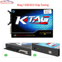 Auto ECU Programming Tool KTAG V7.020 SW V2.23 Master Without reset key No Token Limited For Car Truck K TAG V7.020