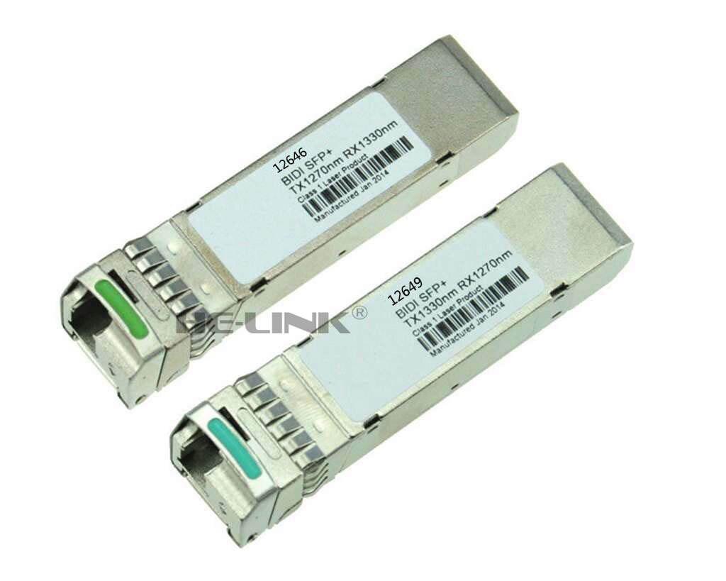 LODFIBER 12646/12749 Ci-ena (ex.Nortel) Compatible Pair of BiDi SFP 10G 10km TransceiverLODFIBER 12646/12749 Ci-ena (ex.Nortel) Compatible Pair of BiDi SFP 10G 10km Transceiver