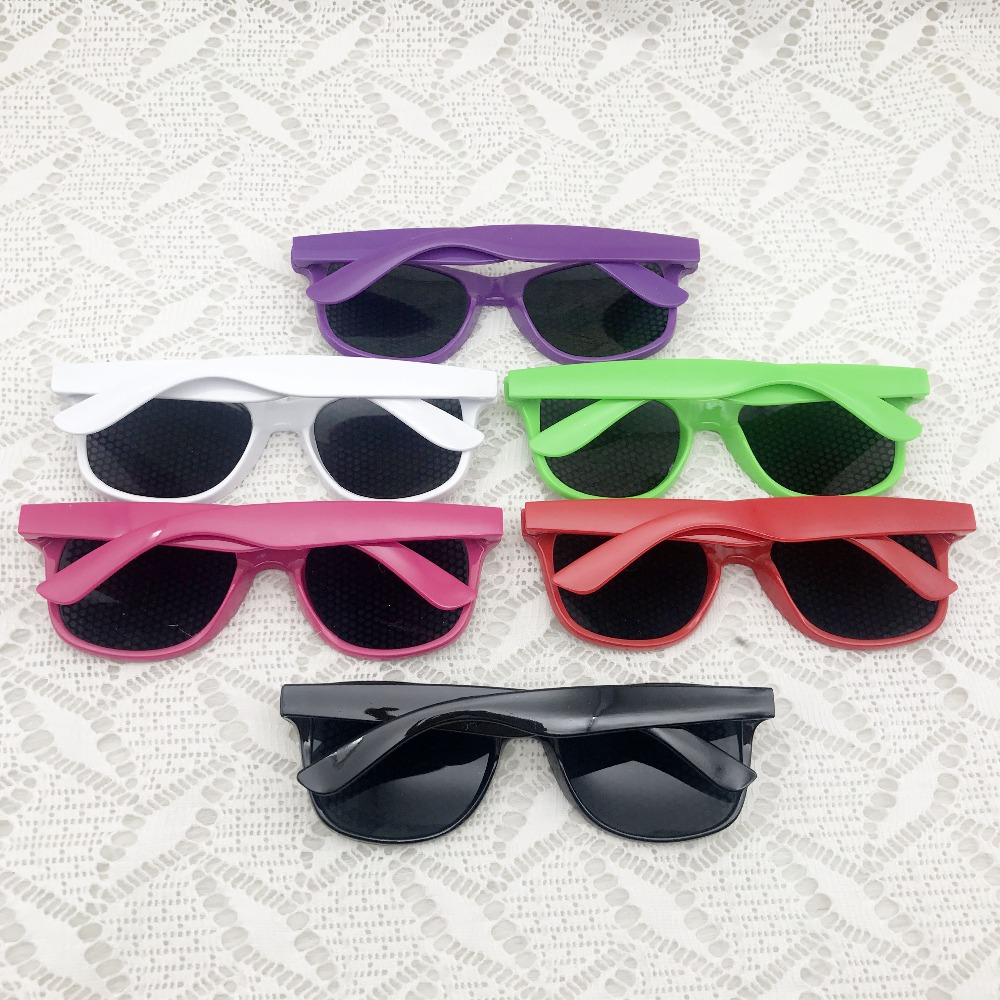 US $68 86 |48pcs/lot Mix Color Retro Party 80's Theme Sunglasses Photo  Booth Props Totally 80's Novelty Sunglasses Party Favor for Adult -in Party  DIY