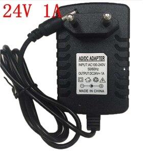 Image 2 - AC100 240V Zu DC24V 1A 2A 3A 4A 5A 6A 24V Power Adapter Versorgung led Beleuchtung Schalter Transformatoren Fahrer Ladegerät EU/US/UK/AU Stecker