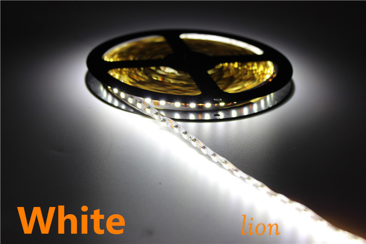 5m 600 LED 3528 SMD 12V flexible light 120 led/m,non-waterproof LED strip, white/warm white/blue/green/red/yellow