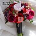 Artificial Wedding Bouquets Wedding Flowers Bridal Bouquets De Noiva Buques De Casamento Brooch-bouquet Handmade Bouquet