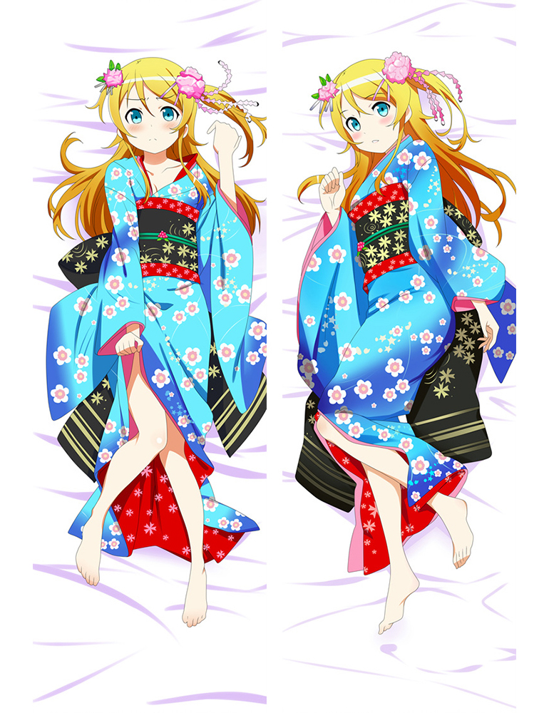 My sister can not be so cute Kousaka kirino Japanese Anime Hugging Body Dakimakura Pillow Cover Case 67078