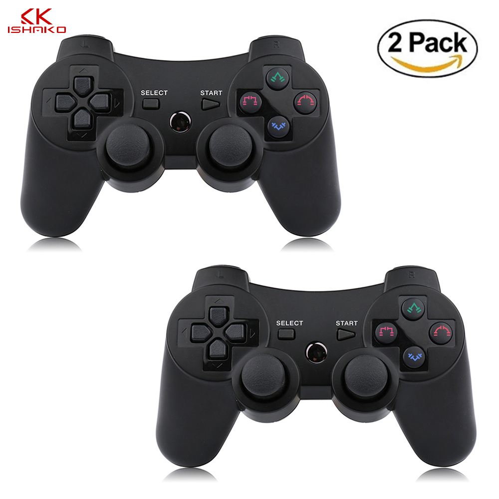 K ISHAKO Bluetooth Game Controller For PS3 Wireless Joystick Vibration Remote Control For Playstation 3 Console Gamepad