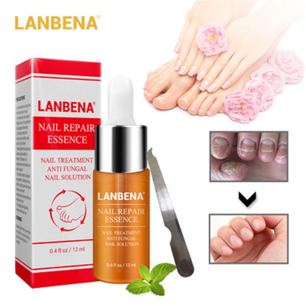 Coupon Price of  LANBENA 12ml Nail Repair Essence Serum Fungal Nail Treatment Remove Onychomycosis Toe Nourishing Br