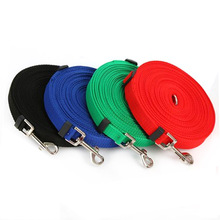 5 Colors Pet dog Leash Nylon for dogs Walking Training Cats Dogs Harness Collar Strap Puppy Supplies