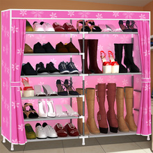 Easy assembly hall dust shoe storage capacity strengthening lockers combination rack