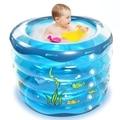Comercio al por mayor Portable Bebés Piscina Niños Verano Al Aire Libre Inflable Piscina Infantil Piscina de Baño Para Bebé Cubo