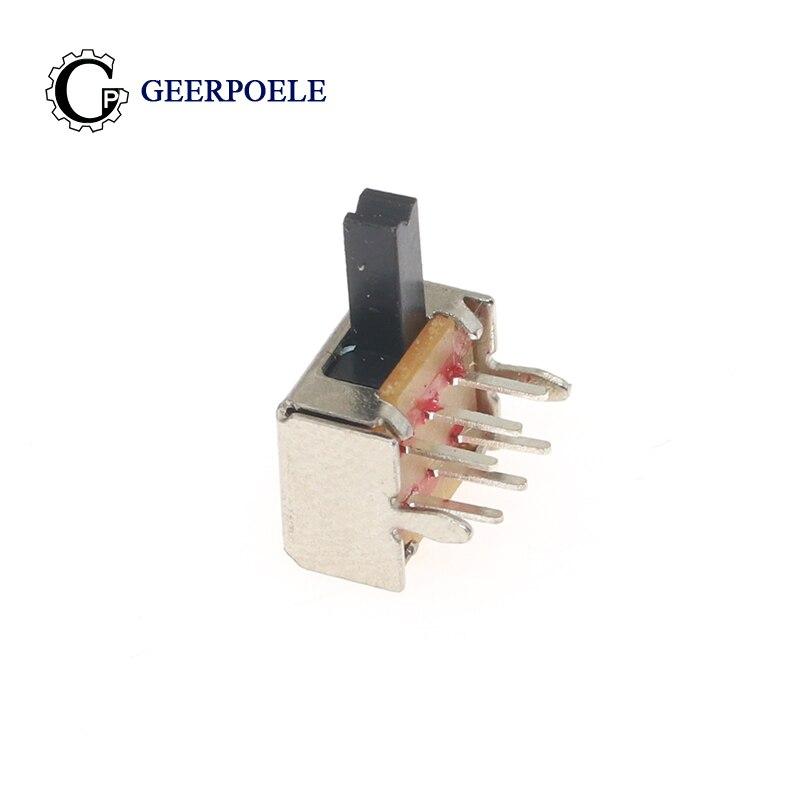 GP 10 pcs/lot SK22D02 6P 50V 0.5A Toggle Switch Bouton Poussoir Metal Interrupteur Micro