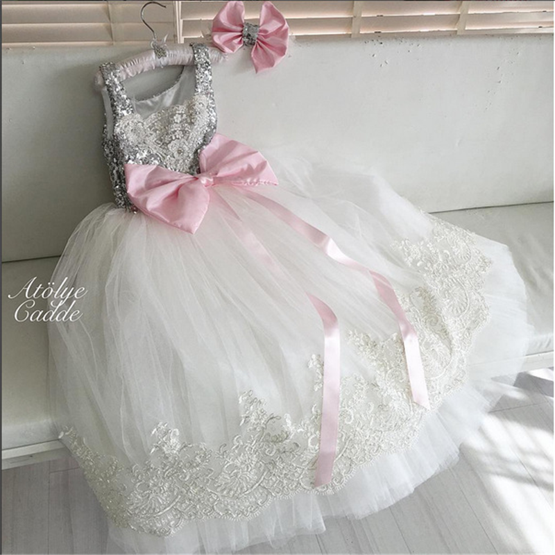 ФОТО 3p780 Baby Girls Dress 2017 New kids dresses for girls Lace toddler girl clothing wholesale baby boutique clothing