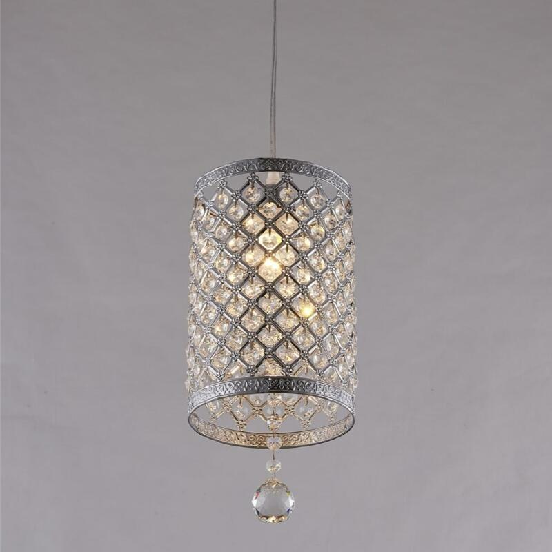Modern Golden /chrome lustre LED Crystal chandelier crystal lamp E27/26 Chandelier Lighting Fixture Pendant Ceiling Lamp Crystal цена