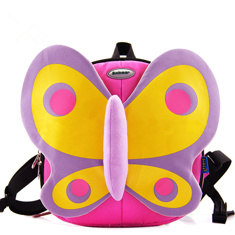 Cute Kids Bag Erfly Schoolbag Baby Book Printing School Backpack Children Bags For S Satchel Rucksack Mochila
