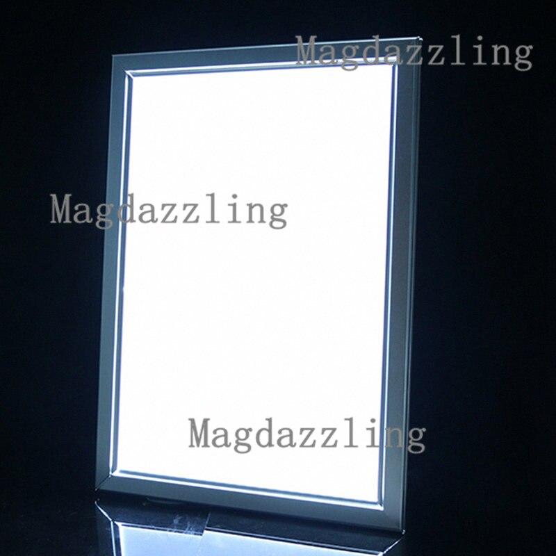 50x70CM Slim snap frame led backlit advertising light box shop ...