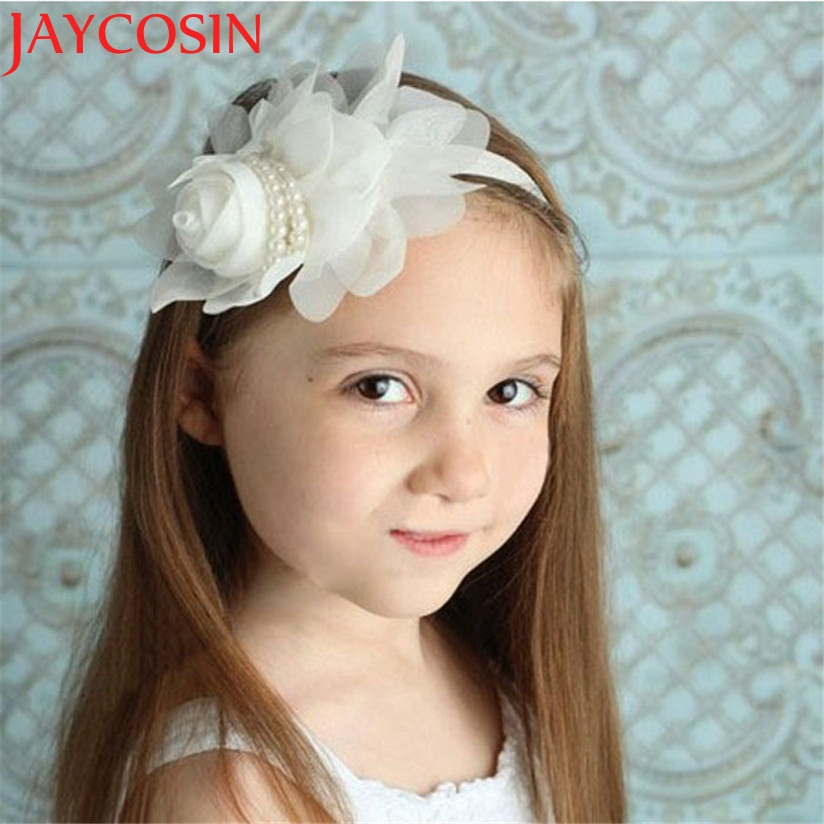 JAYCOSIN Multicolor Flower Rhinestone Headbands girl hair accessories Girl headband cute hair band newborn floral headband vintage bohemian ethnic colored tube seed beads flower rhinestone handmade elastic headband hair band hair accessories