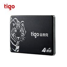 Tigo SSD 480 GB SATA3 2,5 дюйма Внутренний твердотельный накопитель для настольных ПК жесткий диск 480 gb sata 3 подарок sata