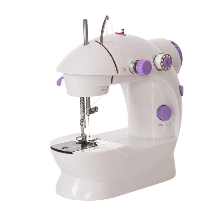 2019 Mini Portable Handheld Sewing Machines Stitch Sew Needlework Cordless Clothes Fabrics Electrec Sewing Machine Stitch Set 16