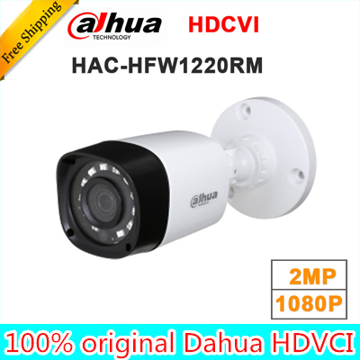 Wholesale dahua HAC-HFW1220RM 1MP HDCVI IR Bullet Camera Smart IP67 2MP 1080P HD CCTV Lite Series DH-HAC-HFW1220RM dahua hdcvi 1080p bullet camera 1 2 72megapixel cmos 1080p ir 80m ip67 hac hfw1200d security camera dh hac hfw1200d camera