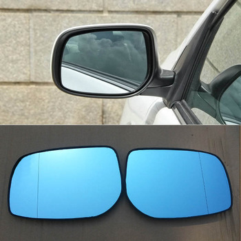 For Toyota Corolla 2007-2013 Car Rearview Mirror Wide Angle Hyperbola Blue Mirror Arrow  LED Turning Signal Lights car rearview mirror turn signal lights led lamp for toyota wish prius mark x crown auto exterior warning lights turning signal