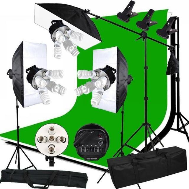 ABESTSTUDIO Photography Studio Lighting Tent Kit 3375W Photo Studio Continuous Lighting kit SoftboxBoom arm 3 Background  sc 1 st  AliExpress.com & ABESTSTUDIO Photography Studio Lighting Tent Kit 3375W Photo Studio ...