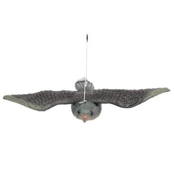 Outdoor Hunting Shooting Decoys Realistic Flying Bird Hawk Pigeon Decoy Pest Control Garden Traps Scare crow Ornament