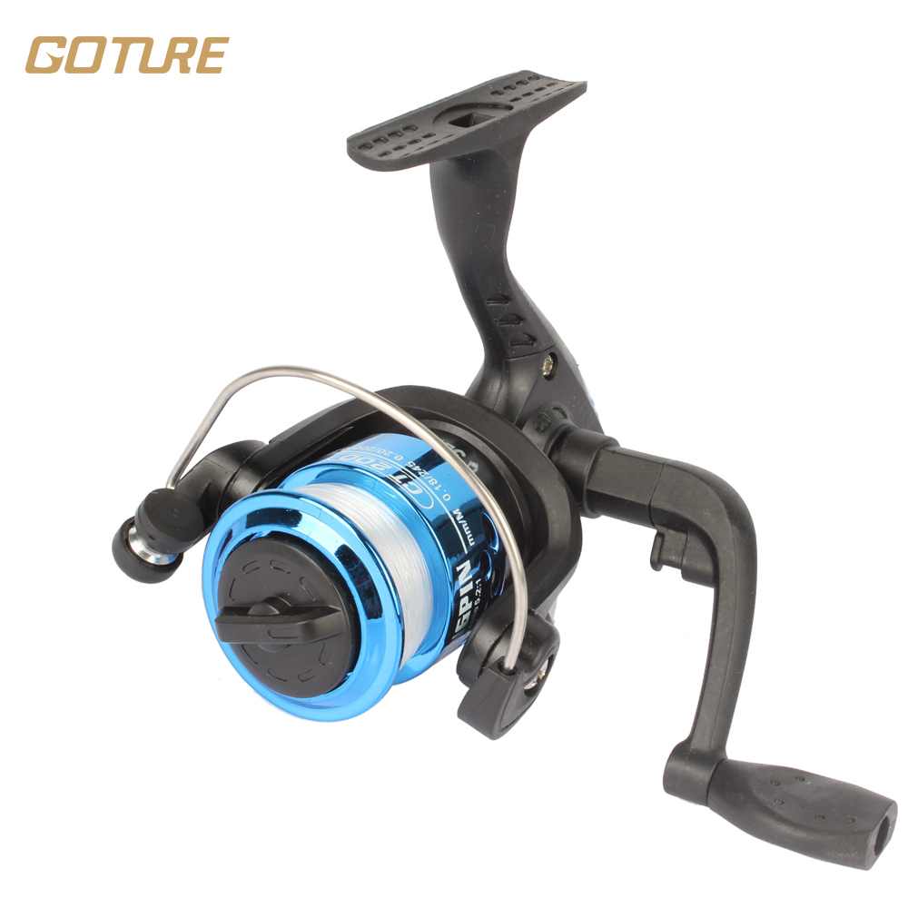 Small fishing reel lure wheel 200series for ice fish pen for Micro fishing reel