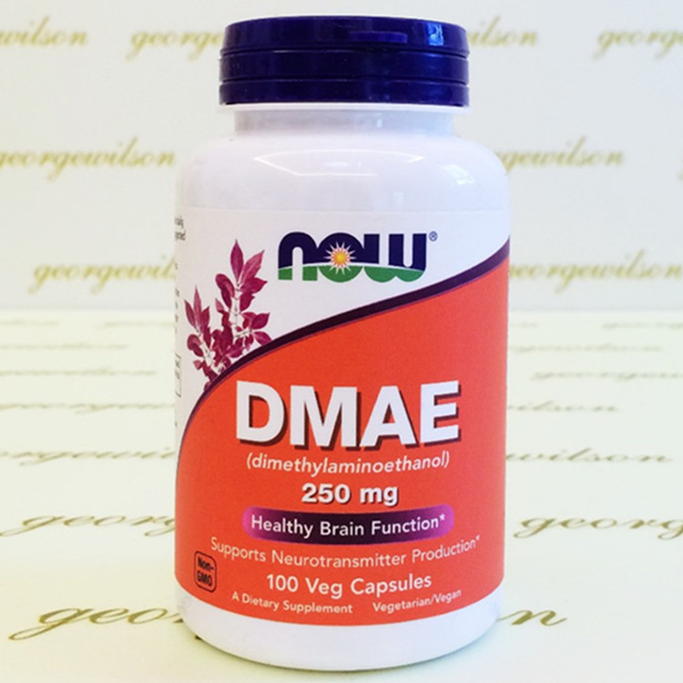 Free shipping NOW Foods Dmae, 100 Capsules / 250mg free shipping 100