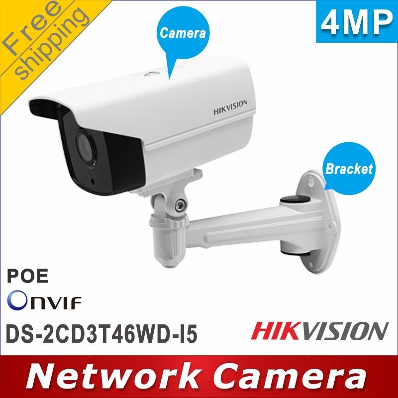 จัดส่งฟรี Hikvision 4MP กล้อง DS 2CD3T46WD I5 เปลี่ยน DS 2CD2T45FWD I5 EXIR Bullet ip กล้องเครือข่ายกล้องสนับสนุน P2P-ใน กล้องวงจรปิด จาก การรักษาความปลอดภัยและการป้องกัน บน AliExpress - 11.11_สิบเอ็ด สิบเอ็ดวันคนโสด 1