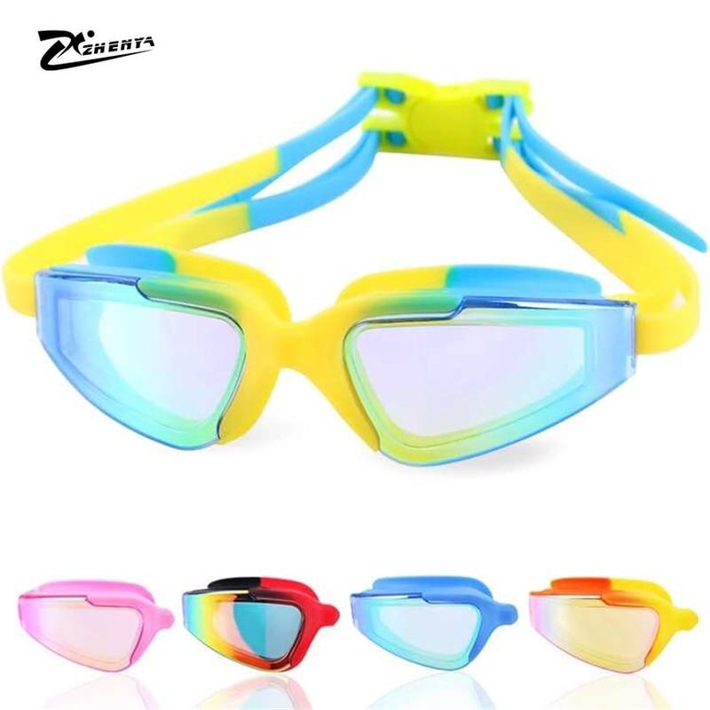 Novo profissional óculos de natação adultos anti-nevoeiro arena esportes óculos de natação natação à prova dwaterproof água óculos de proteção