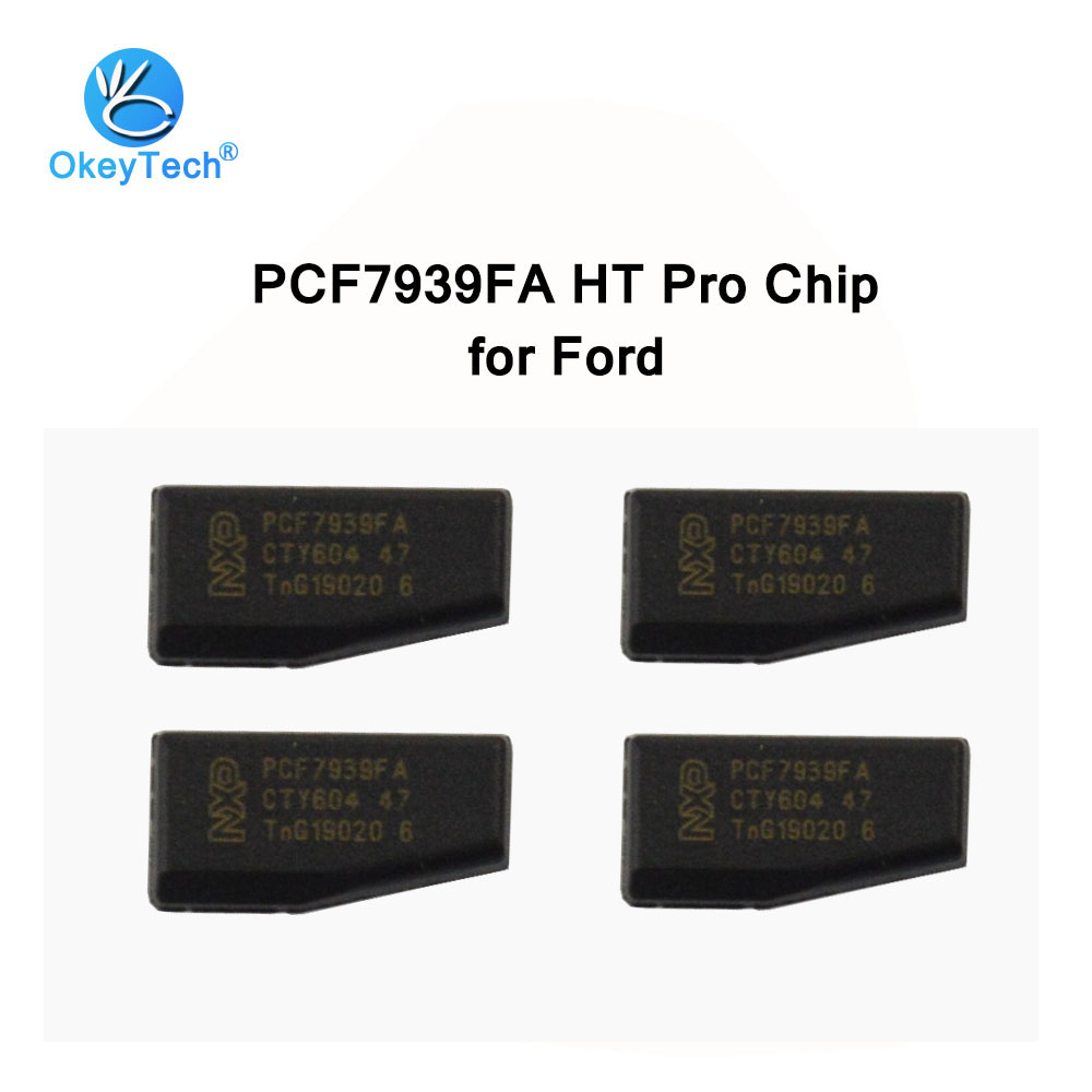OkeyTech 5pcs/lot Auto Car Key PCF7939FA 128-Bit Carbon Transponder Chip HT Pro For Ford Edge Fusion Ecosport Mustang Cobra MKZOkeyTech 5pcs/lot Auto Car Key PCF7939FA 128-Bit Carbon Transponder Chip HT Pro For Ford Edge Fusion Ecosport Mustang Cobra MKZ