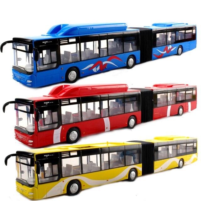 Bus rail subway tram train children toy car model holiday ceremony in box W80