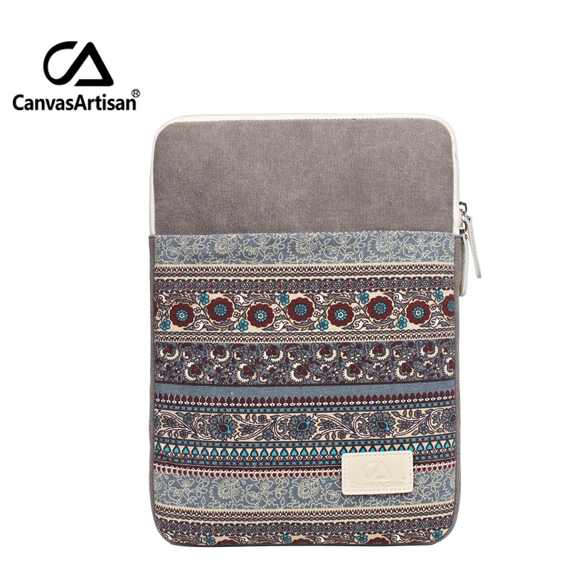 Top Quality Canvas Laptop Sleeve Tablet Case Notebook Protective Cover For 13 Inch Briefcase For 13.3 Microsoft Surface Pro 3