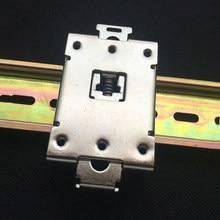 10 pcs Monofásica SSR 25DA 40DA AA DD 35 MM trilho DIN Relé de Estado sólido clipe grampo suporte de montagem R99-12 Relés de Estado Sólido