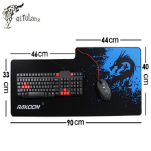 Rakoon Large Gaming Mouse Pad Anime Mousepad Gamer Keyboard Mat for CS GO Csgo World of tanks Dota2 League of Legend Computer