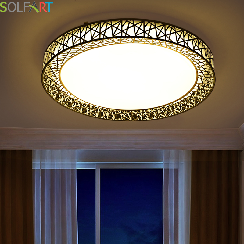 SOLFART lamp ceiling lights light fixtures plafonnier led remote control led chip dimming lights acryl ceiling lights CS89441
