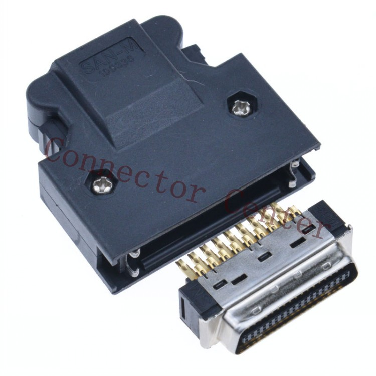 MDR Cable Connector plug male 36 Pin Compatible With 3M SCSI CN Connector 10336 10136 with