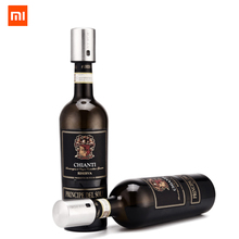Xiaomi Mijia Smart Wine Stopper Stainless Steel Vacuum Memory Wine Stopper Electric Stopper Wine Corks chain brand-Circle Joy